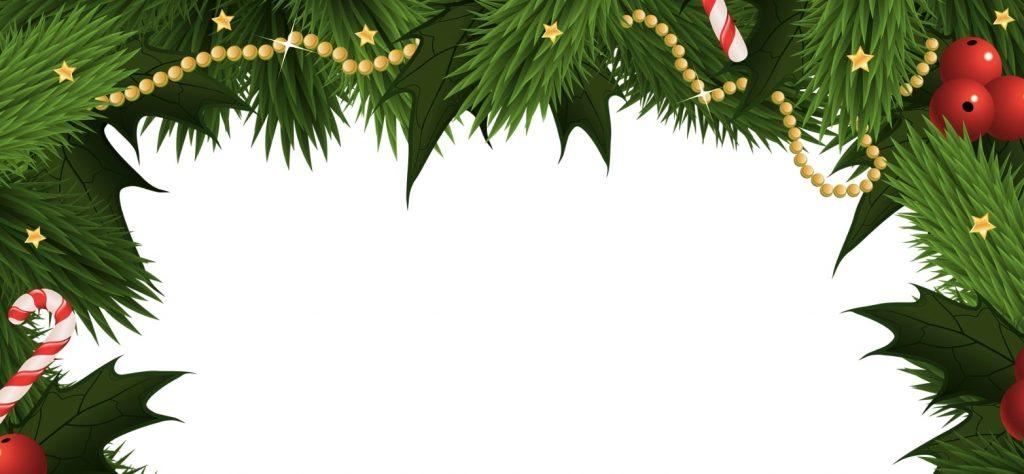 bordes navideños para word