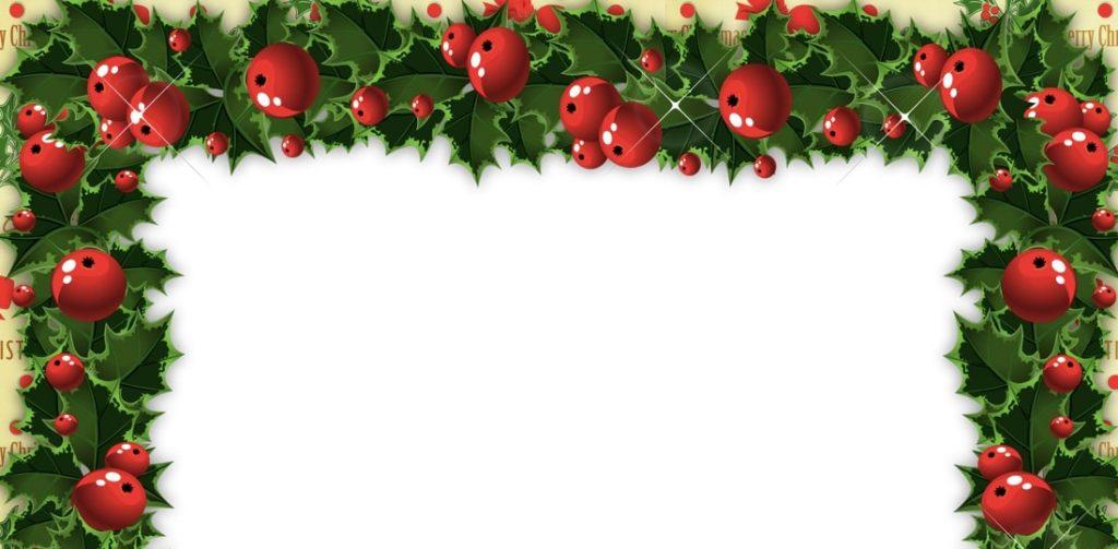 bordes para hojas navideños